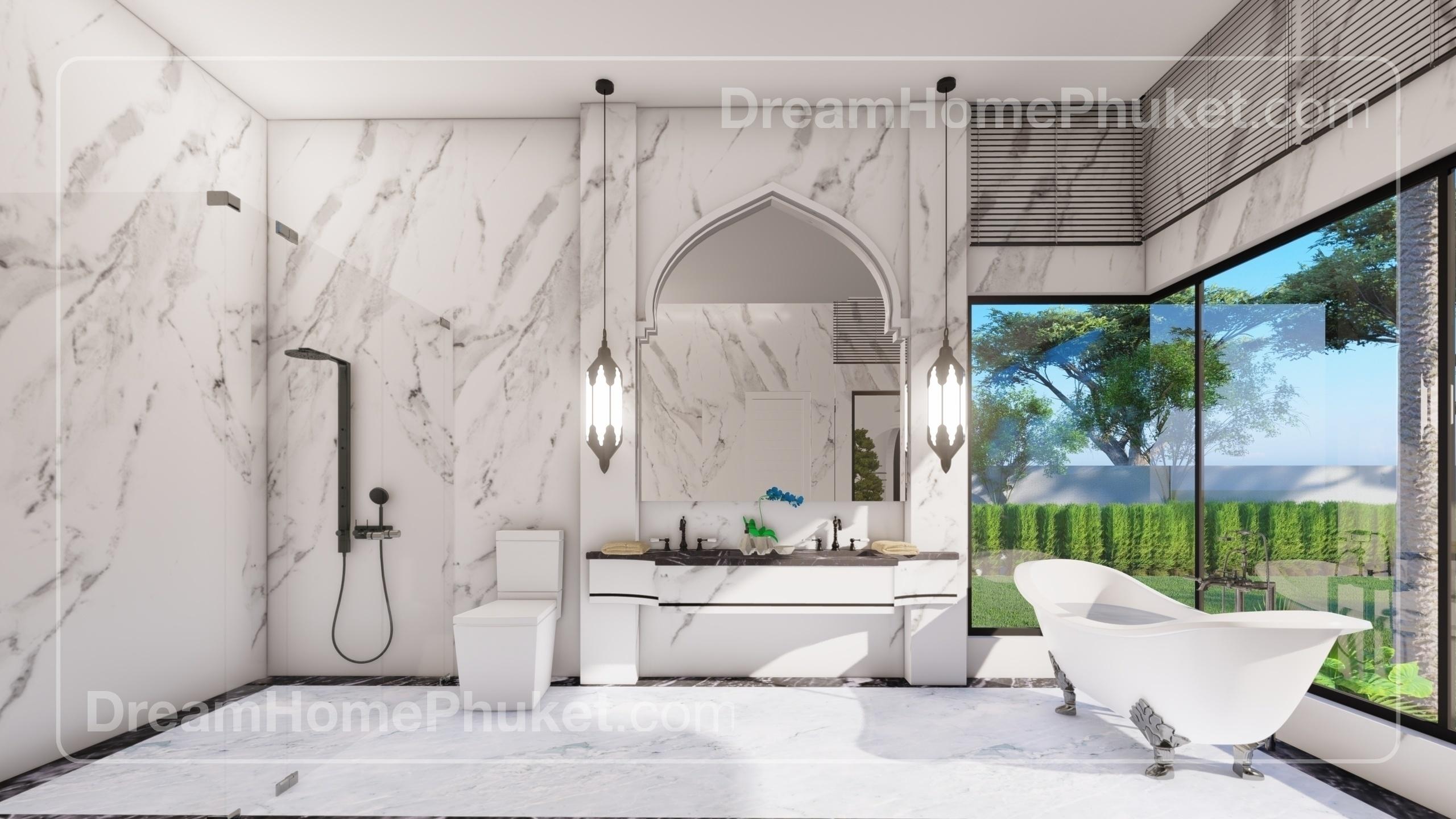 Modern Moroccan Style Villas In Thalang Dream House Phuket