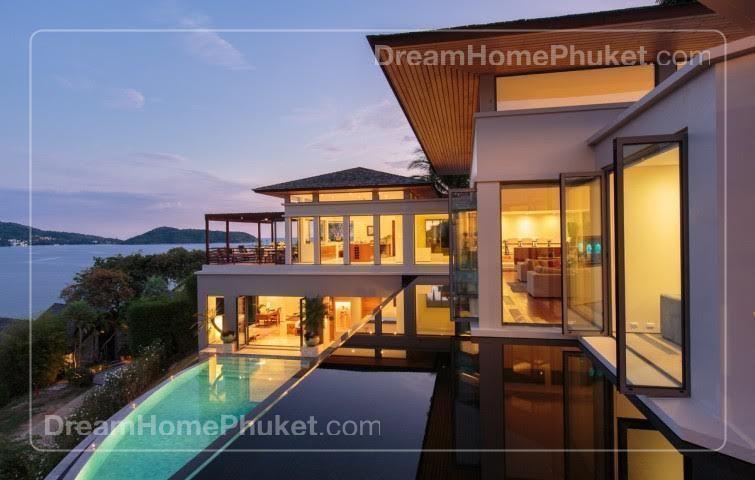 Stylish Ocean Front Villa In Kamala Phuket Dream House
